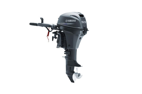 Yamaha 9.9hp 4-Stroke Outboard Engine with Long Shaft, Tiller Handle & Electric Start