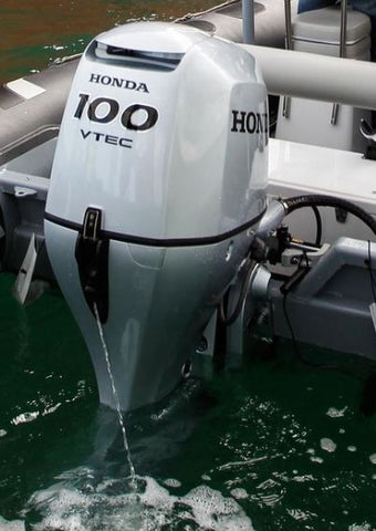 Honda 100Hp outboard engine long shaft electric start remote control