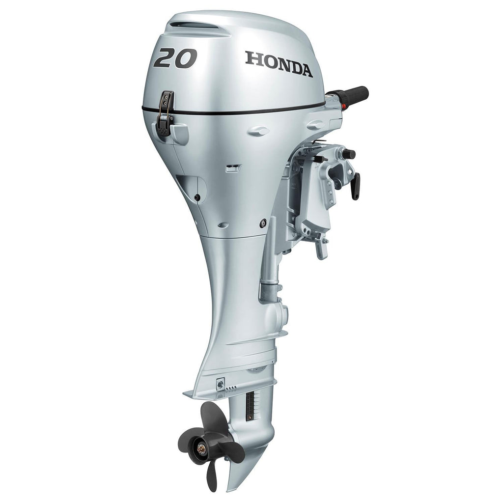 Honda 20hp 4-Stroke Outboard Engine with Long Shaft