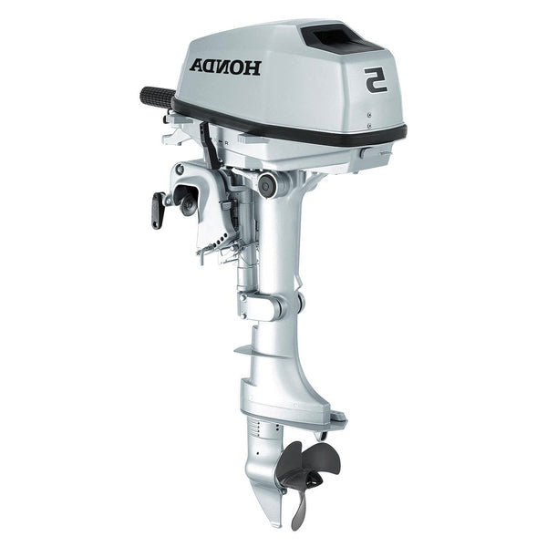 Honda 5hp 4-Stroke Outboard Engine with Short Shaft – Rob Perry Marine