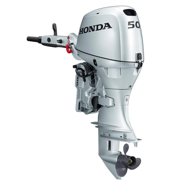 Honda 50hp 4 Stroke Outboard Engine With Long Shaft Electric Start P Rob Perry Marine