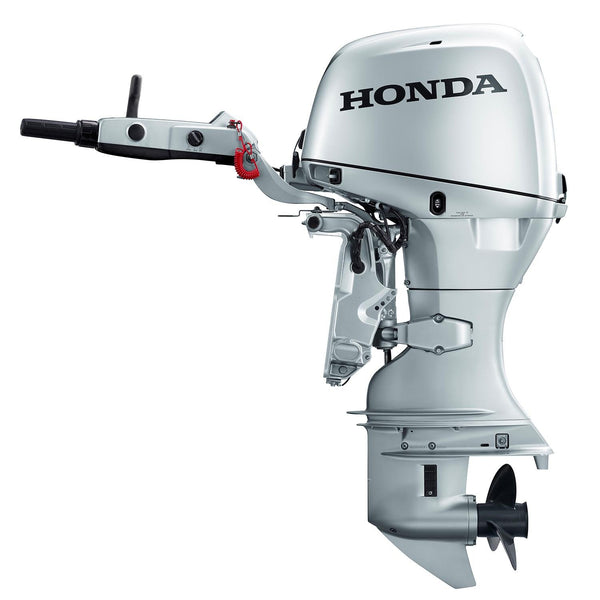 honda hp  stroke outboard engine  long shaft electric start p rob perry marine