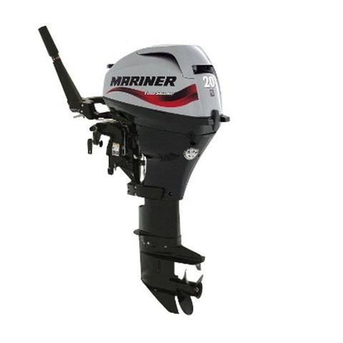 Mariner 20hp 4-Stroke Outboard Engine with Long Shaft, Electric Start, Power Tilt & Remote Control