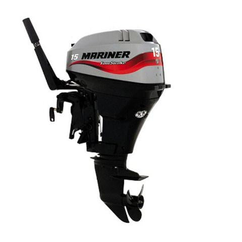 Mariner 15hp 4-Stroke Outboard Engine with Short Shaft & Tiller Handle