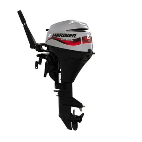 Mariner 8hp 4-Stroke Outboard Engine with Long Shaft & Tiller Handle