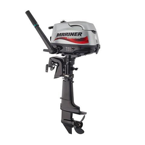 Mariner 4hp 4-Stroke Outboard Engine with Long Shaft & Tiller Handle
