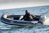 Highfield Classic CL360 Rib boat at sea
