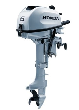 Honda 6hp 4-Stroke Outboard Engine with Long Shaft & 6 Amp Charging Coil
