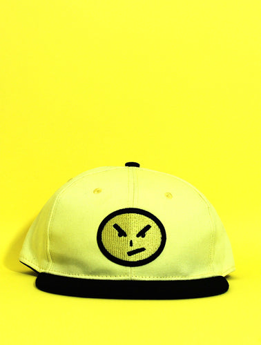 Yellow Suede Snapback