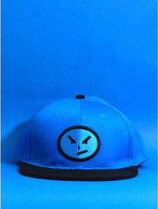 Blue Face Screwface Snapback