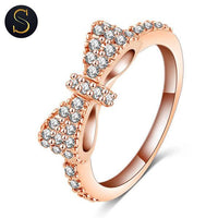 Bague Noeud Rose Gold
