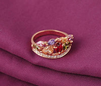 Bague colorissimo RoseGold