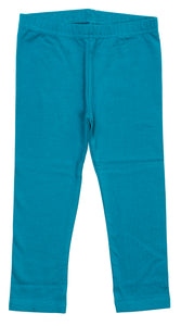 Teal Fitted Long Leggings