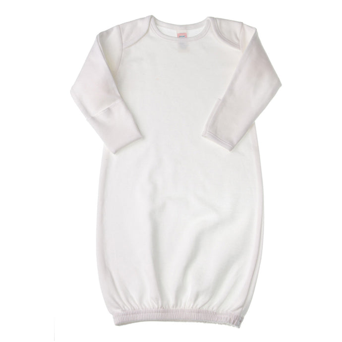 Cotton Blank Baby Gown | BabyJay