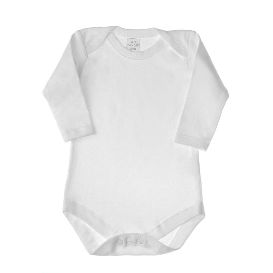 Long Sleeve Envelope Neck Bodysuit- 3 Pack