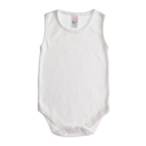 Round Necked Sleeveless Bodysuit - BabyJay Layette