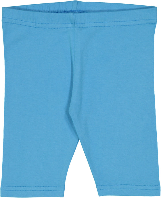 Horizon Blue Fitted Short Leggings