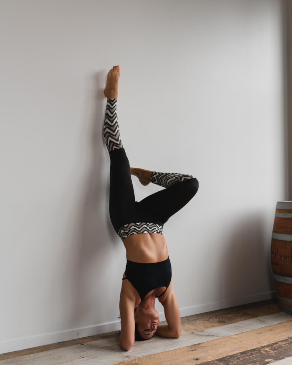 Inversions - Legs Against The Wall Yoga Pose