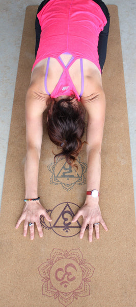 Kate Watkinson on natural yoga mat