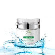 Eye Cream Gel - Anti Wrinkle - Anti Aging - with Jojoba Oil, Vitamin E and Hyaluronic Acid
