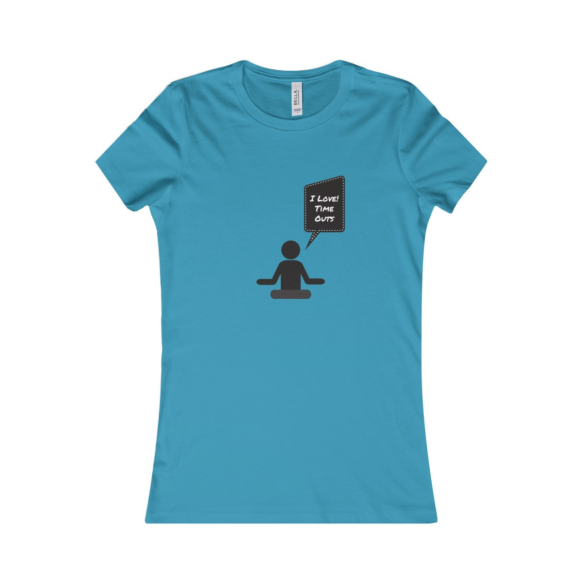 I Love Time Outs Custom Meditation Women's Tee