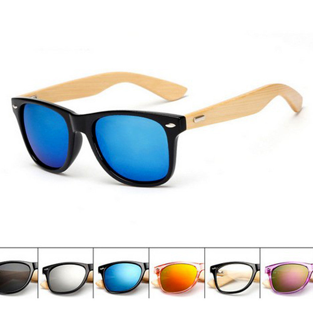 Bamboo Sunglasses for Men Or Women  Staff Picks
