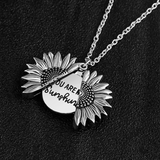 You are my sunshine - Personalised Necklace