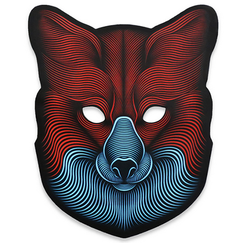Fox - LED Voice Activated Rave Mask