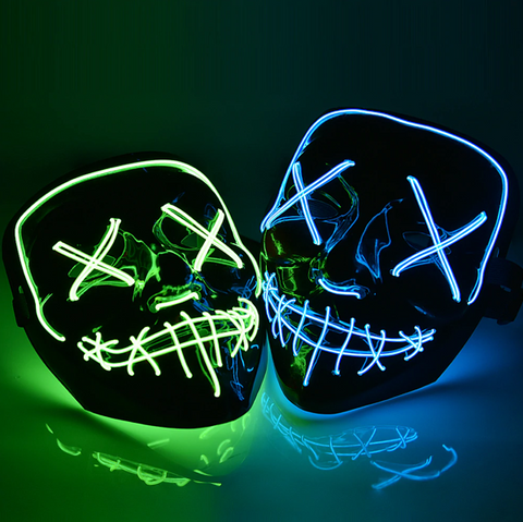 LED Rave EDM Mask