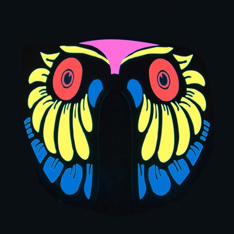 Owl - LED Sound Activated Rave Mask