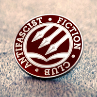 Antifascist Fiction Club Hard Enamel Pin