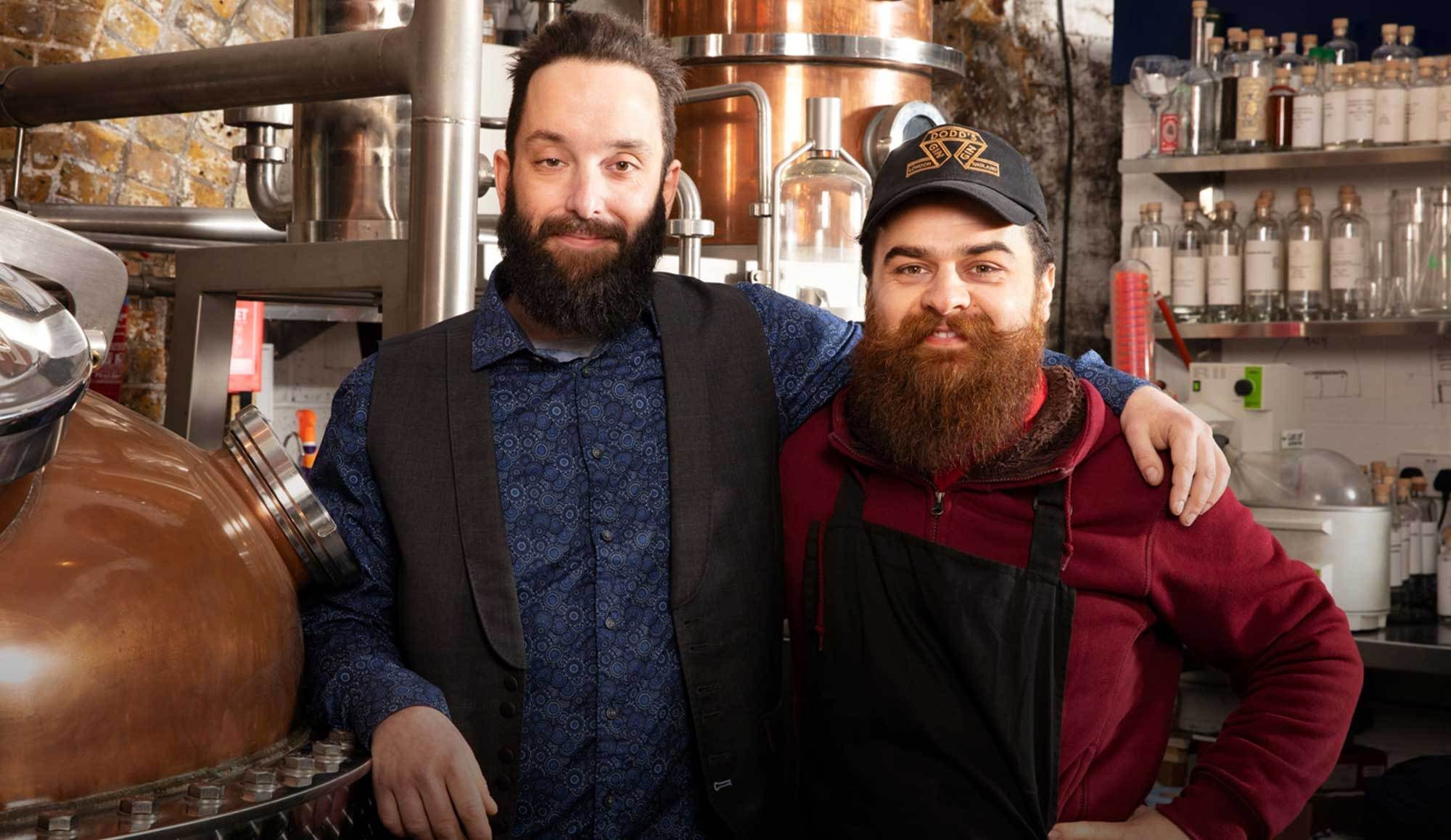 Toby and Marzio at London Distillery
