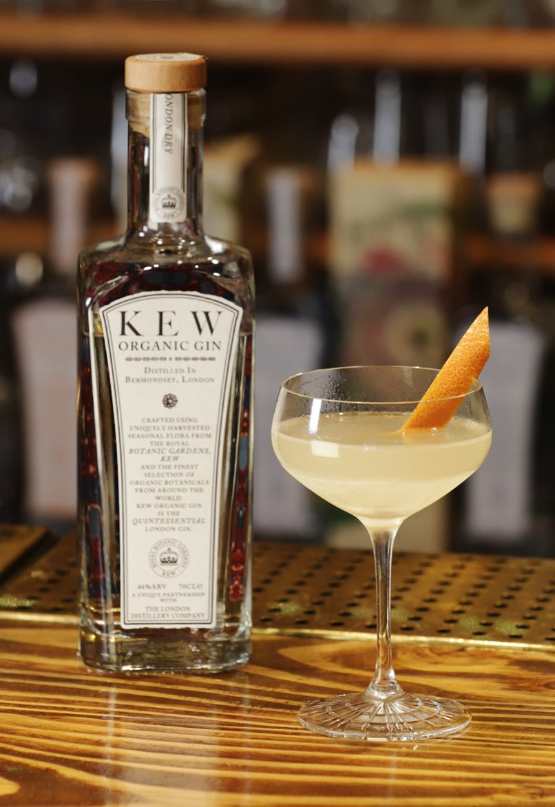 KEW Organic Gin : The Perfect Serve London Calling