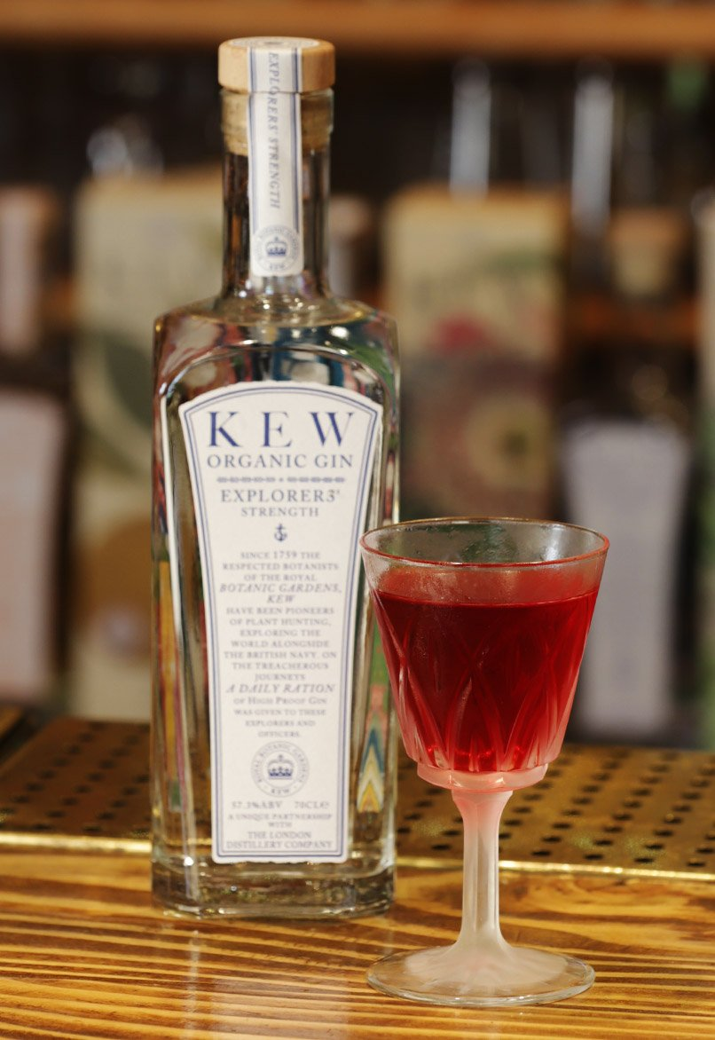 Kew Explorers' Strength Gin : The Perfect Serve Zaza