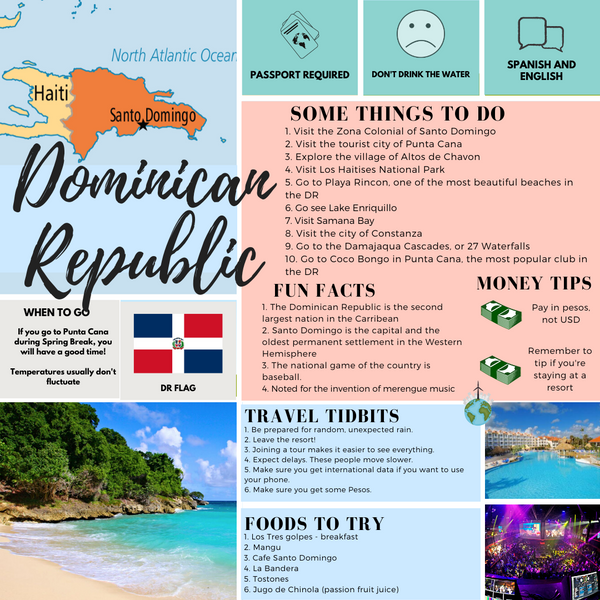 Travel Infographic | Dominican Republic