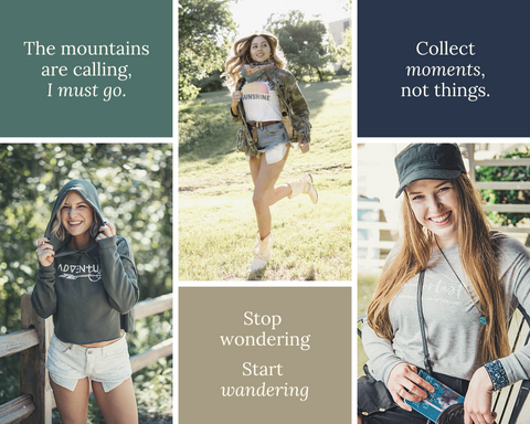 Shop Wander Wear Brand Ambassador Program