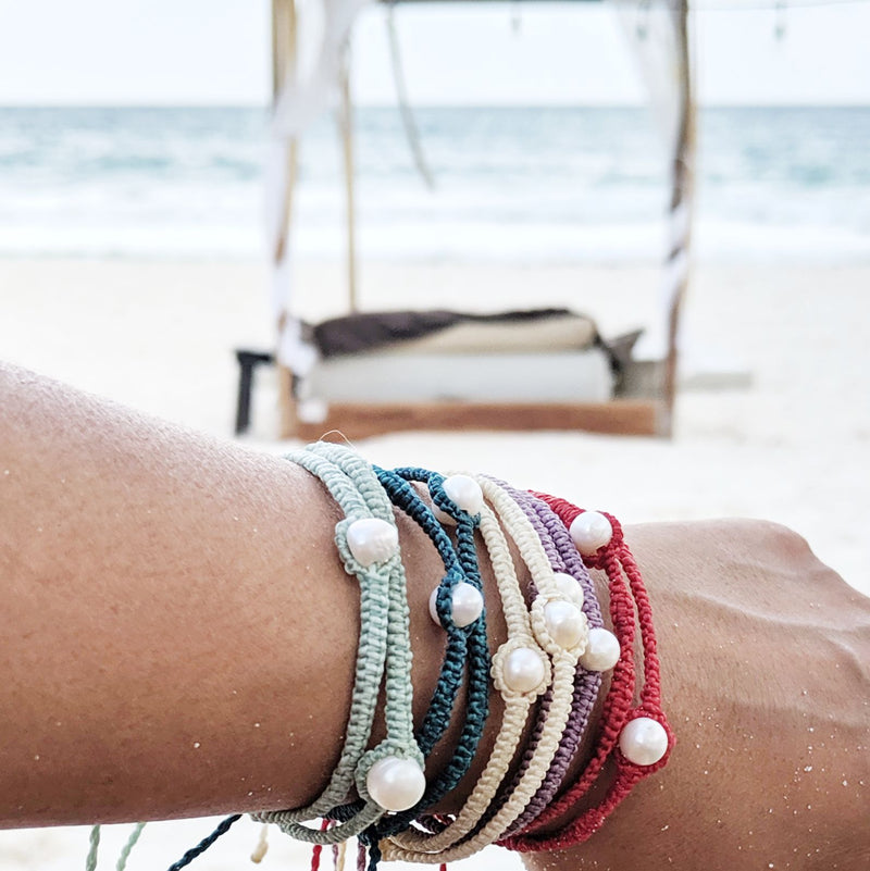 Perlas de Tulum Bracelet | Travel Inspired Accessories