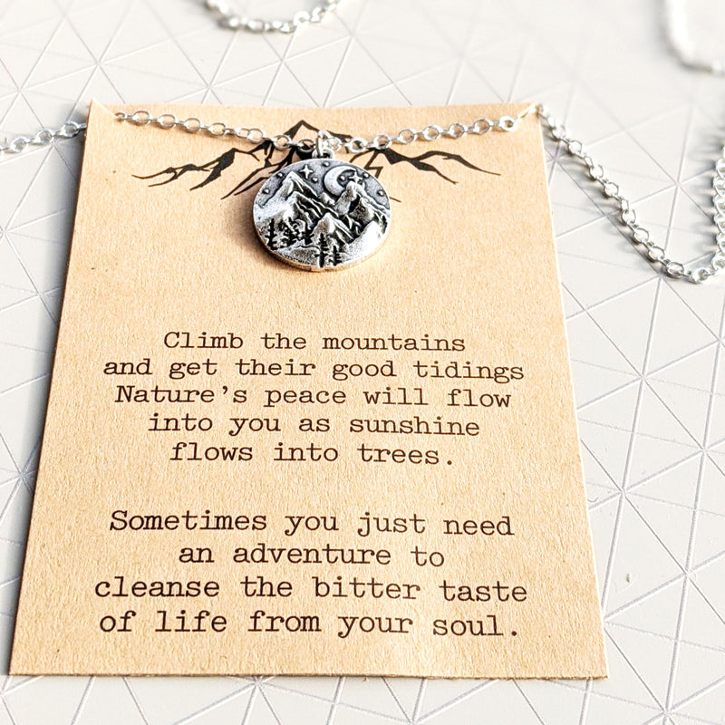 The Mountains Are Calling | Necklace