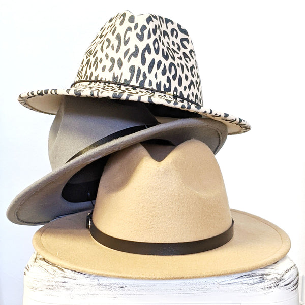 Coachella Fedora Wool Hats
