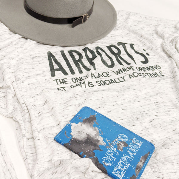 Airports... | Flowy Long Sleeve