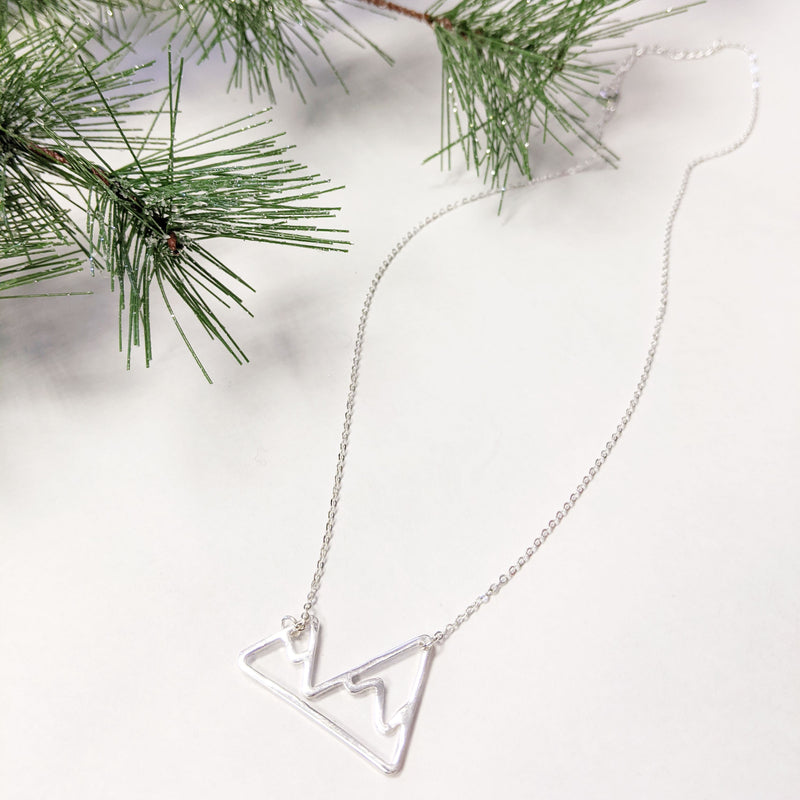 Snow Capped Mountains | Necklace
