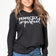 Perfectly Imperfect | Inspirational Leisure Wear | Long Sleeve Hoodie