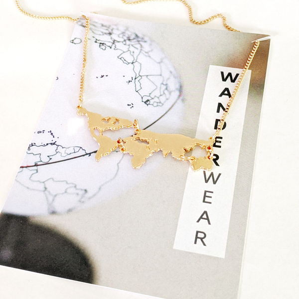 Seven Continents Necklace | Travel Inspired Accessories