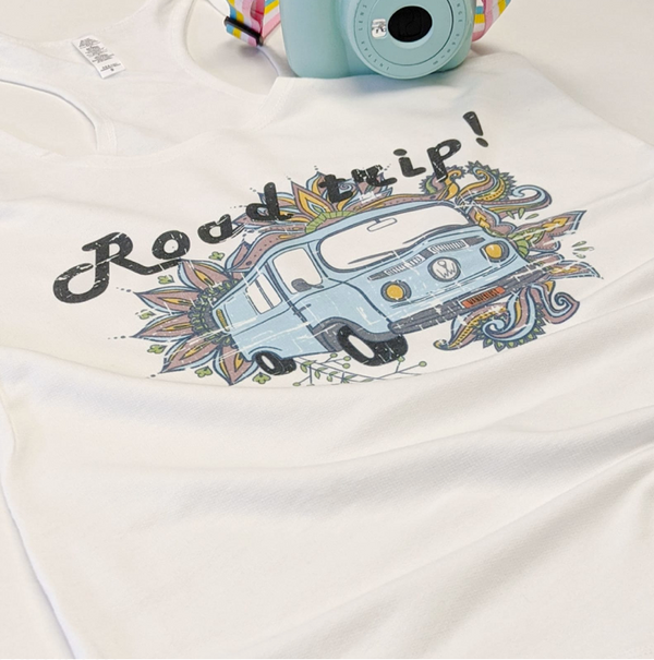 Roadtrip | French Terry Racerback Tank