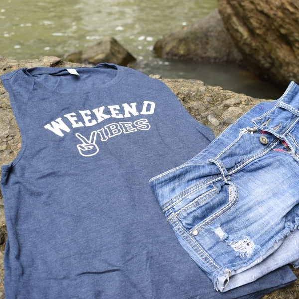Weekend Vibes | Travel Inspired Leisure Wear | Muscle Tank | Shop Wander Wear