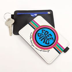 Free Bird Key Ring Credit Card Wallet | Travel Accessories
