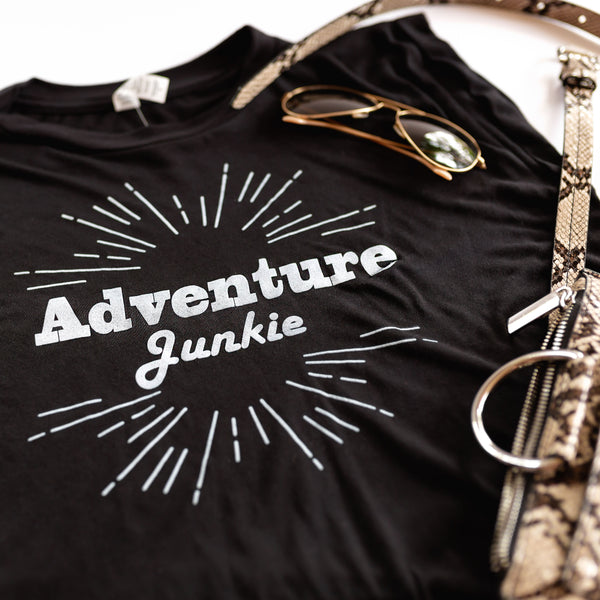 Adventure Junkie | Muscle Tank