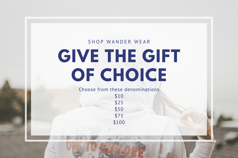 Shop Wander Wear eGift Card