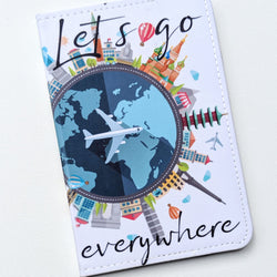 Let's Go Everywhere Passport Holder | Travel Inspired Accessories