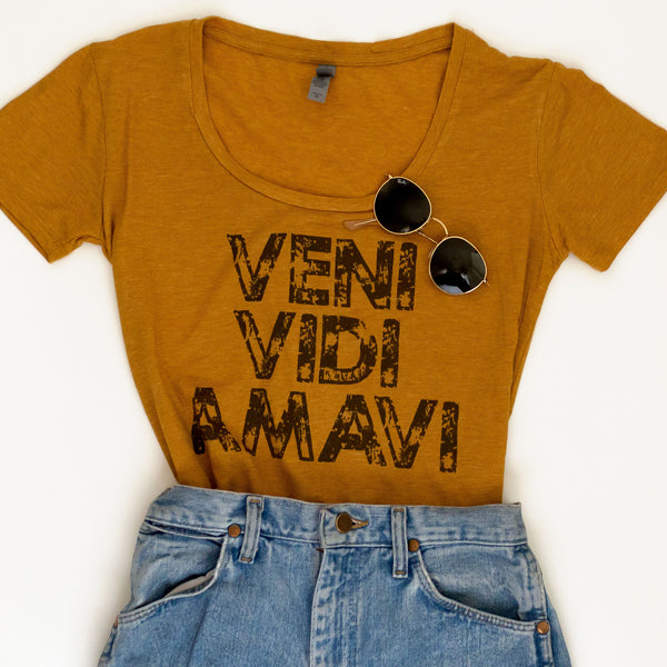 Veni Vidi Amavi (I Came. I Saw. I Loved) | Short-Sleeve Festival Tee